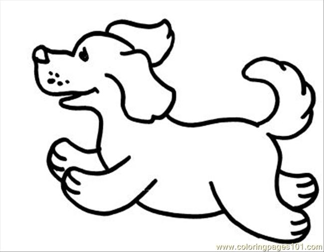 Dogs8 Coloring Page