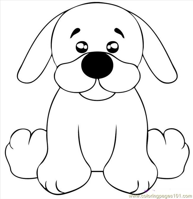 Draw A Black Lab Puppy Step 5 Coloring Page Free Dog