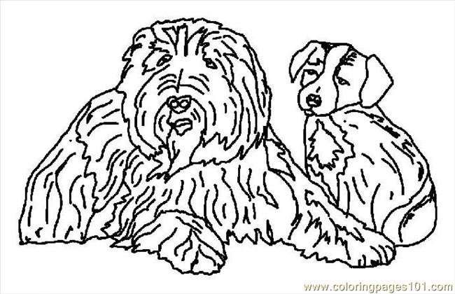G Sheet Dogs Coloring Page 10 Coloring Page