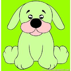 Draw A Black Lab Puppy Step 5 Free Coloring Page for Kids