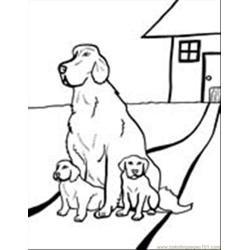 Dog Coloring Pages 02