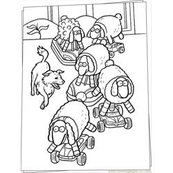 Dog Coloring Page Source Ygd