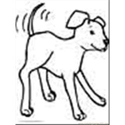 Dog Puppy Coloring Page 05
