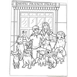 Dogs Coloring Page Source Eb5