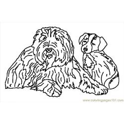 G Sheet Dogs Coloring Page 10