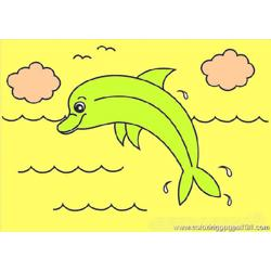 Dolphin Coloring Pages