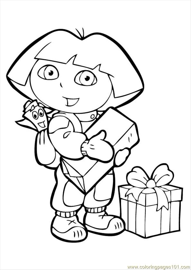 Dora Coloring Pages - Free Printables - MomJunction | 919x649