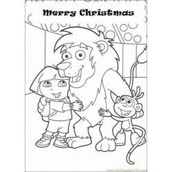 Christmas Coloring Pages Lrg