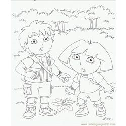 Diego Coloring Pages 3 Lrg