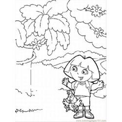 Doralrg Free Coloring Page for Kids