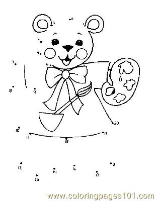 Dot To Dot 39 Coloring Page