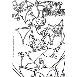 Halloween8 Source Ylk Free Coloring Page for Kids