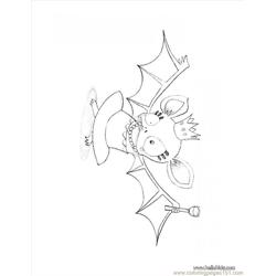 Halloween Bat Queen Coloring Page Source 9l7 Free Coloring Page for Kids