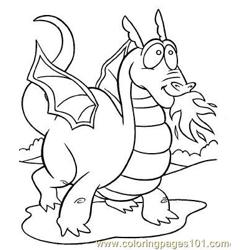 Dragon 05 coloring page