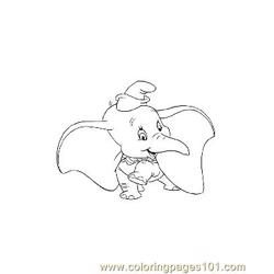 Dumbo 2 coloring page
