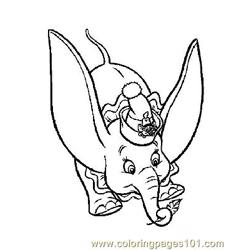 Dumbo 3 coloring page
