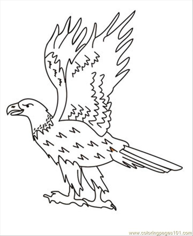 Eagle2 Coloring Page