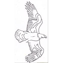 Eagle Line Drawing 3