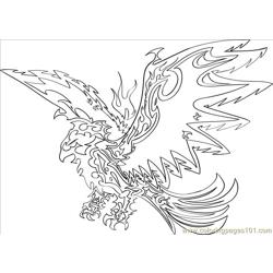 To Draw A Tribal Eagle Step 8