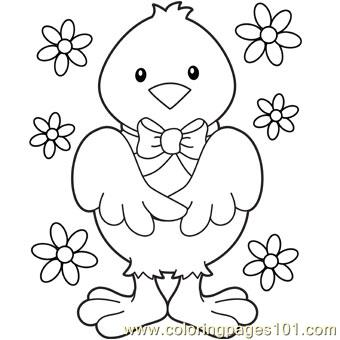 Easter chick Coloring Page Free Easter Chicks Coloring Pages