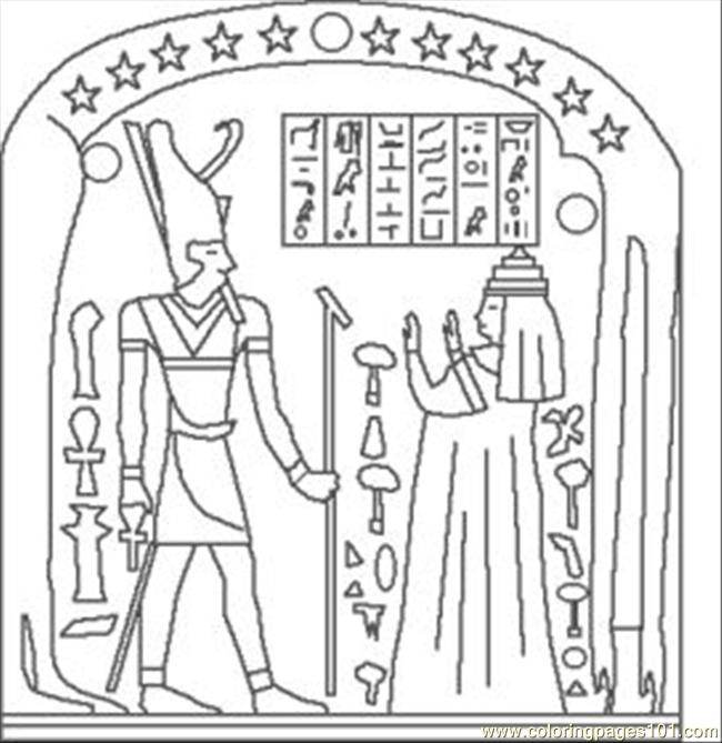 E Egypt Coloring Pages 16 Med Coloring Page - Free Egypt Coloring ...
