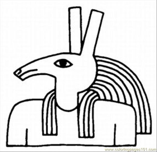 egypt printable coloring pages ancient for