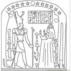 E Egypt Coloring Pages 16 Med