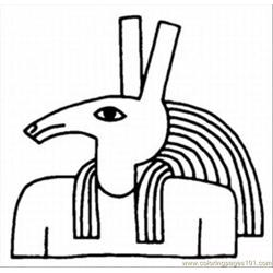 Egypt Coloring Pages 4 Med