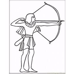 Egyptian With Bow