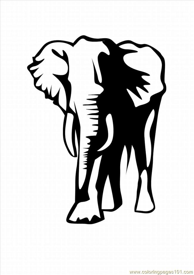 Lephant Coloring Pages 24 Lrg Coloring Page