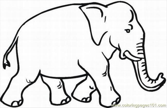 Lephant Coloring Pages 30 Lrg Coloring Page