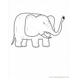 Lephant Coloring Pages 13 Lrg