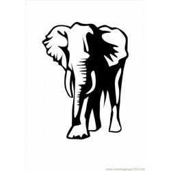 Lephant Coloring Pages 24 Lrg