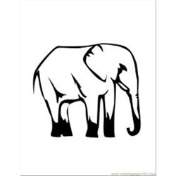Lephant Coloring Pages 28 Med