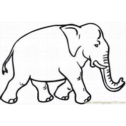 Lephant Coloring Pages 30 Lrg