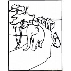 Lephant Coloring Pages 35 Lrg