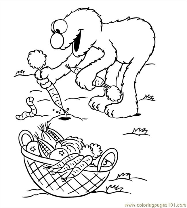 Elmo Coloring Pages06 Coloring Page - Free Sesame Street Coloring ...