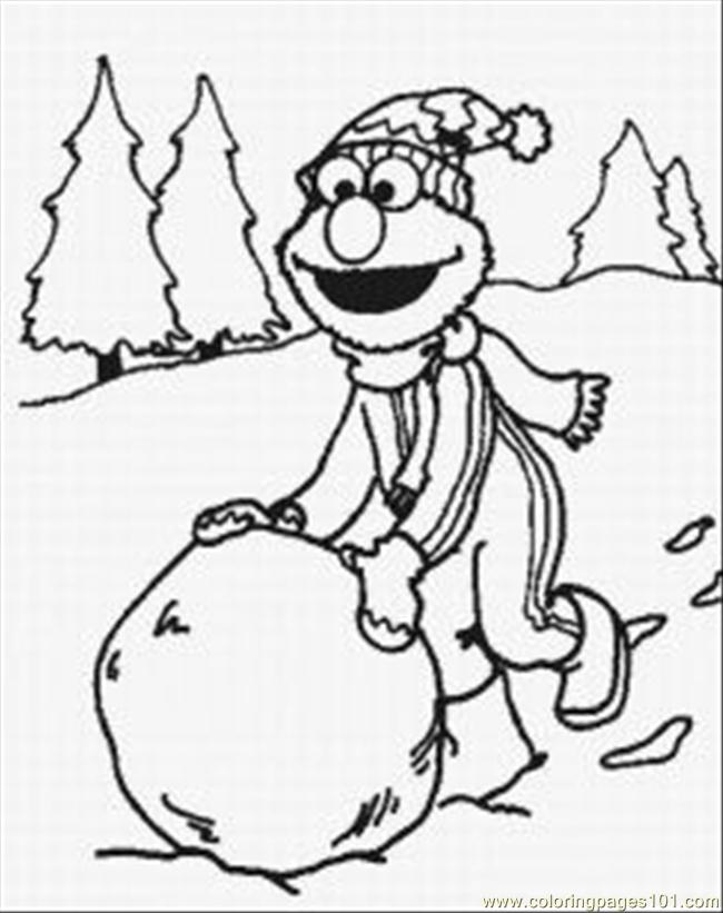 Elmo Coloring Pages 6 Med Coloring Page