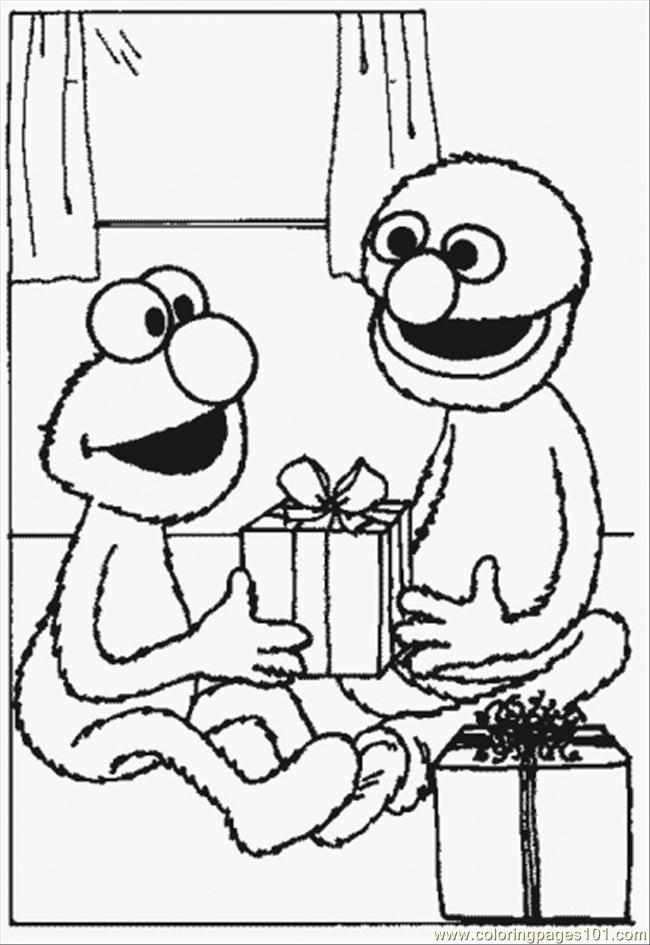 Normal Grover Coloring Page - Free Sesame Street Coloring Pages ...