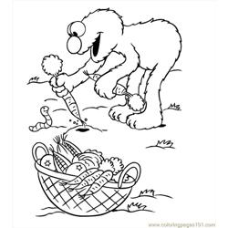 Elmo Coloring Pages06
