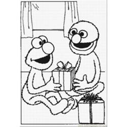 Elmo Coloring Pages 5 Med