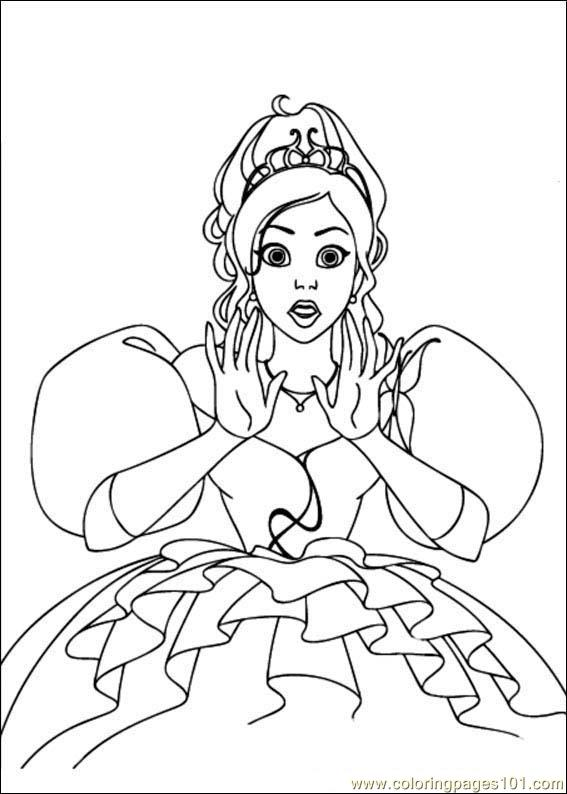 Enchanted 01 Coloring Page