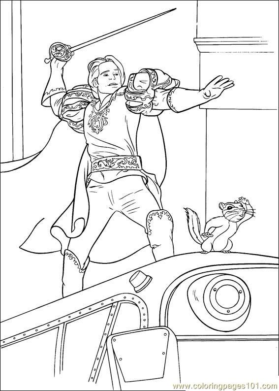 Enchanted 02(1) Coloring Page