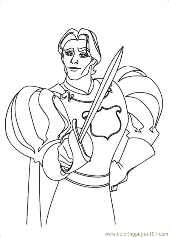 Enchanted 04(1) Coloring Page