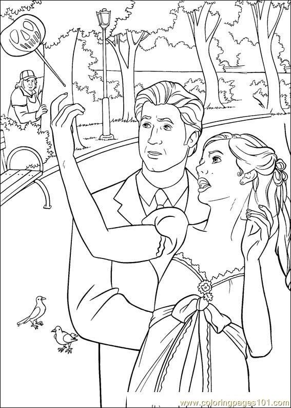 Enchanted 05 Coloring Page