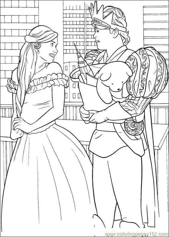 Enchanted 08 Coloring Page