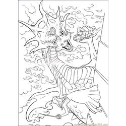 Enchanted 13 coloring page