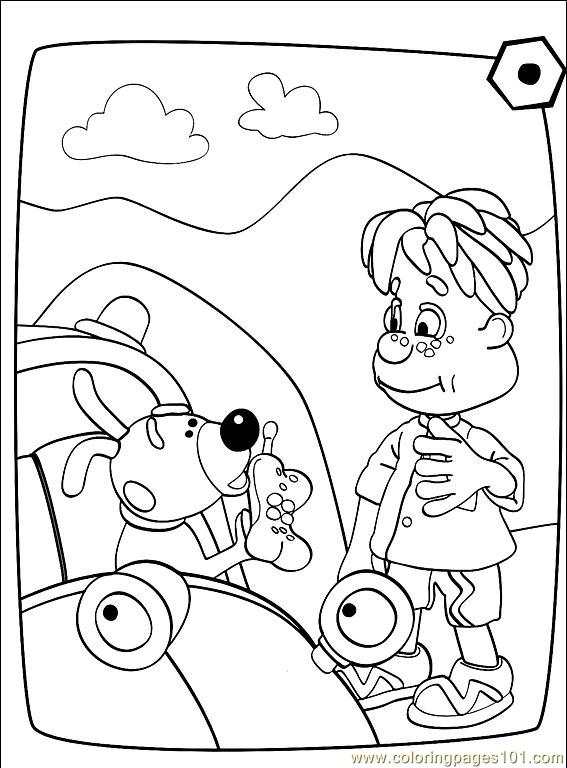 Engie Benjy 001 (10) Coloring Page