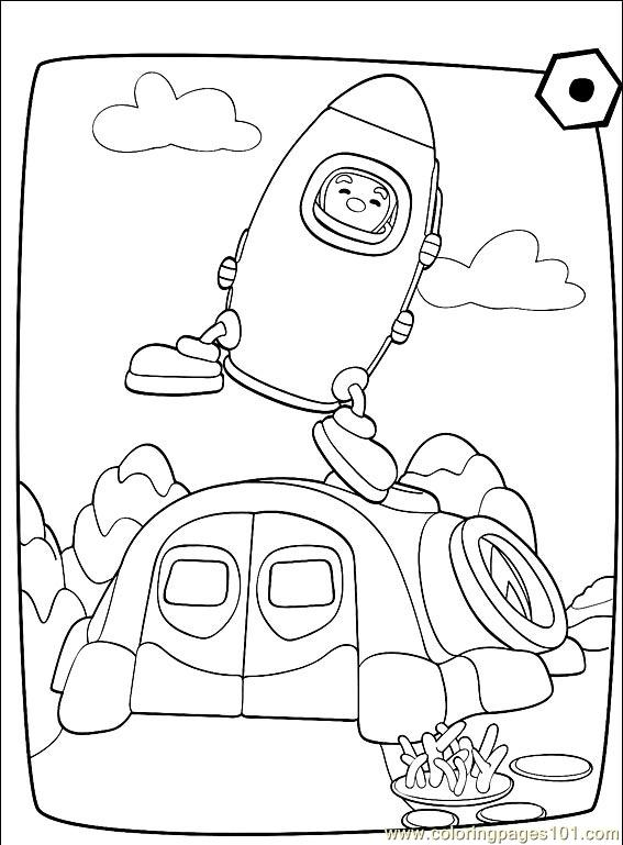 Engie Benjy 001 (17) Coloring Page
