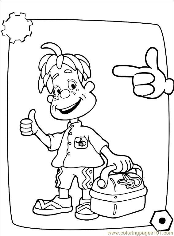 Engie Benjy 001 19 Coloring Page